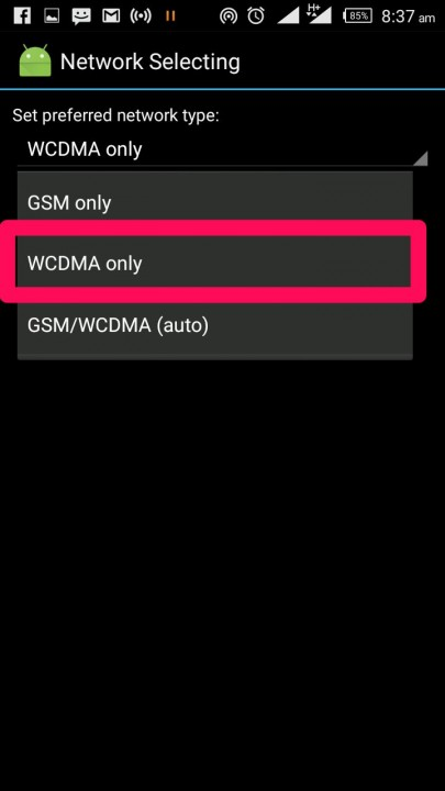 How To Force 3G (WCDMA) Only On Your Infinix Phone - Infinix Authority