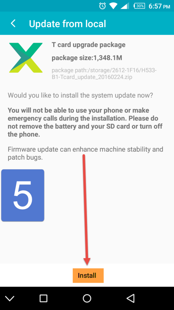 How To Upgrade Your Infinix Phone Via TCard Recovery Version