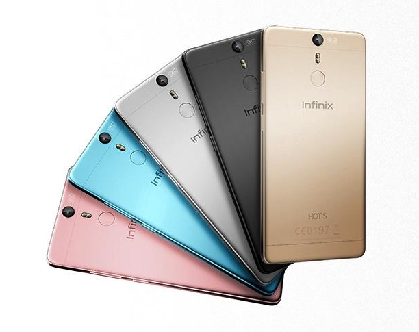 Infinix Hot S Colours