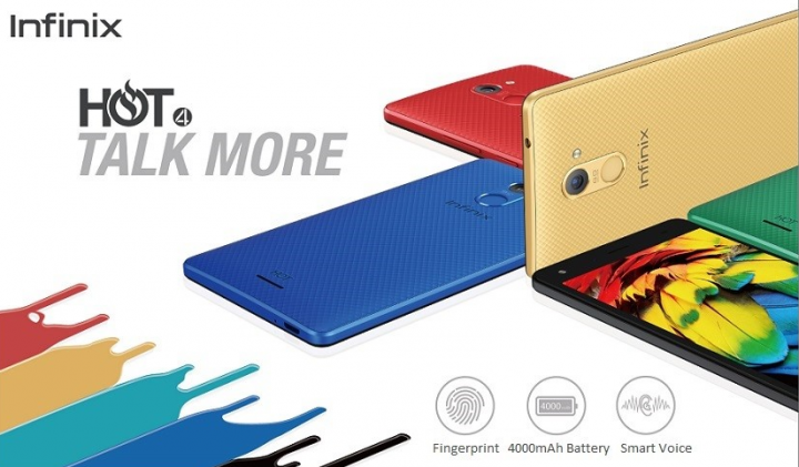 Infinix Hot 4 Launched